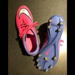 Nike Girl's Soccer Cleats; Brand: Nike Hypervenom